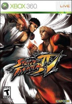 Street Fighter IV Box art