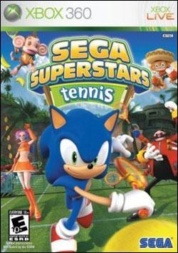 SEGA Superstars Tennis (Xbox 360) by Sega Box Art