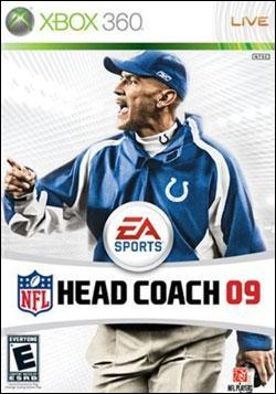 NFL Head Coach 09 (Xbox 360) by Electronic Arts Box Art
