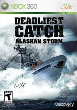 Deadliest Catch Alaskan Storm (Xbox 360) by Greenwave Games Box Art