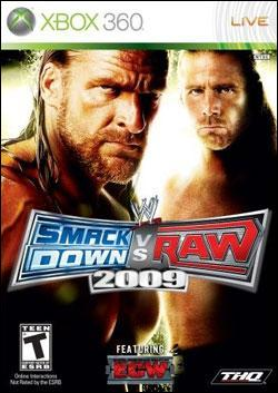 WWE Smackdown vs Raw 2009 Box art