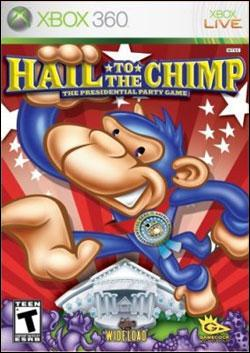 Hail to the Chimp (Xbox 360) by Gamecock Media Box Art