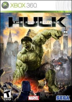 Incredible Hulk, The (Xbox 360) by Sega Box Art