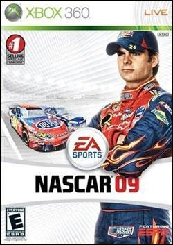 NASCAR 09 (Xbox 360) by Electronic Arts Box Art