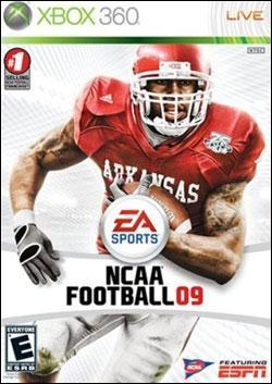 NCAA Football 09 (Xbox 360) by Electronic Arts Box Art