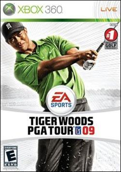 Tiger Woods PGA Tour 09 Box art