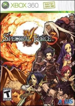 Spectral Force 3 (Xbox 360) by Atlus USA Box Art