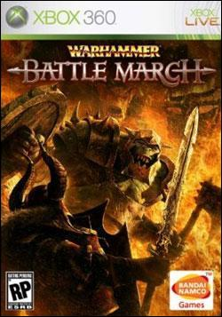 Warhammer: Battle March (Xbox 360) by Namco Bandai Box Art