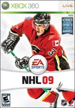 NHL 09 (Xbox 360) by Electronic Arts Box Art