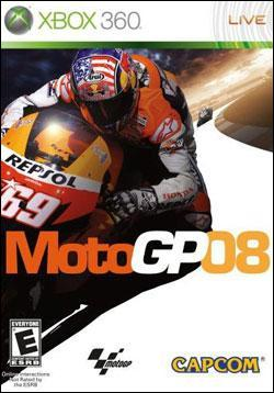 MotoGP 08 Box art
