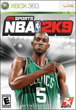 NBA 2k9 (Xbox 360) by 2K Games Box Art
