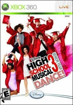 High School Musical 3: Senior Year (Xbox 360) by Disney Interactive / Buena Vista Interactive Box Art