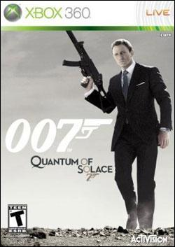 James Bond 007: Quantum of Solace (Xbox 360) by Activision Box Art