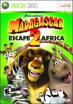 Madagascar: Escape 2 Africa (Xbox 360) by Activision Box Art