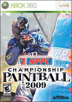 NPPL: Championship Paintball 2009 (Xbox 360) by Activision Box Art