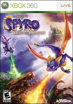 Legend of Spyro: Dawn of the Dragon (Xbox 360) by Activision Box Art