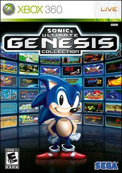 Sonic's Ultimate Genesis Collection (Xbox 360) by Southpeak Interactive Box Art