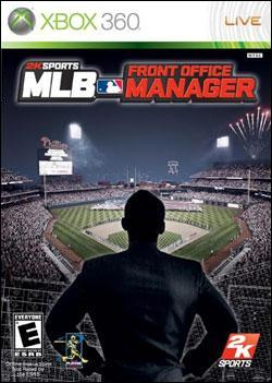 MLB Front Office Manager (Xbox 360) by 2K Games Box Art