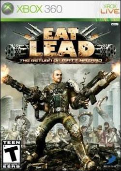 Eat Lead: Return of Matt Hazard (Xbox 360) by D3 Publisher Box Art