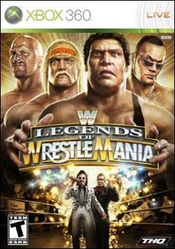 WWE Legends of Wrestlemania Box art