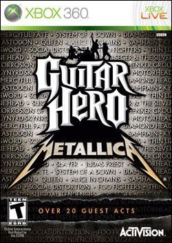 Guitar Hero Metallica (Xbox 360) by Activision Box Art