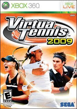 Virtua Tennis 2009 (Xbox 360) by Sega Box Art