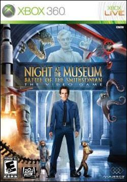 Night at the Museum: Battle of the Smithsonian (Xbox 360) by Majesco Box Art