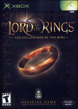 The Lord of the Rings: Fellowship of the Ring (Xbox) by Vivendi Universal Games Box Art