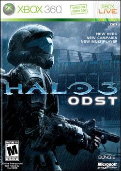 Halo 3: ODST  (Xbox 360) by Microsoft Box Art