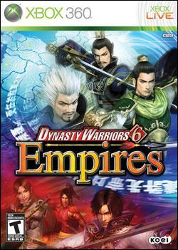 Dynasty Warrior 6: Empires (Xbox 360) by KOEI Corporation Box Art
