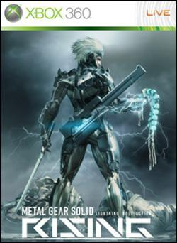 Metal Gear Rising: Revengeance (Xbox 360) by Konami Box Art