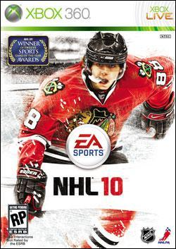 NHL 10 (Xbox 360) by Electronic Arts Box Art