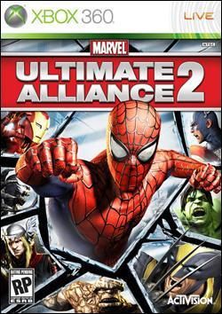 Marvel Ultimate Alliance 2 (Xbox 360) by Activision Box Art