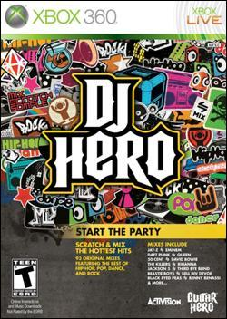 DJ Hero Box art