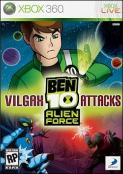 Ben 10 Alien Force: Vilgax Attacks Box art