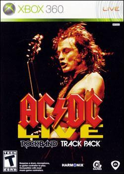 AD/DC Live Rock Band Track Pack (Xbox 360) by Electronic Arts Box Art