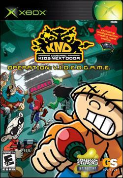 Kids Next Door: Operation V.I.D.E.O.G.A.M.E. (Xbox) by Global Star Software Box Art