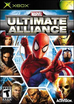 Marvel Ultimate Alliance (Xbox) by Activision Box Art