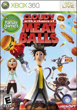 Cloudy With a Chance of Meatballs (Xbox 360) by Ubi Soft Entertainment Box Art