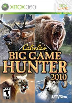 Cabela's Big Game Hunter 2010 (Xbox 360) by Activision Box Art