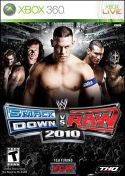 WWE Smackdown vs Raw 2010 Box art