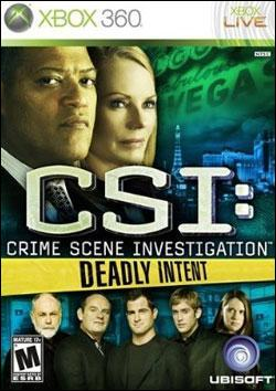 CSI Deadly Intent (Xbox 360) by Ubi Soft Entertainment Box Art