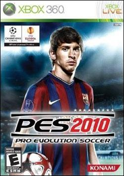 Pro Evolution Soccer 2010 (Xbox 360) by Konami Box Art