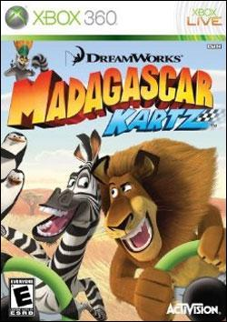 Madagascar Kartz (Xbox 360) by Activision Box Art