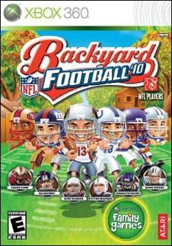 Backyard Football 2010 (Xbox 360) by Atari Box Art