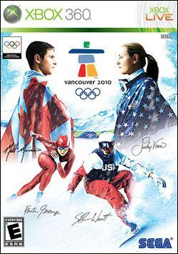 Vancouver 2010 - The Official Video Game (Xbox 360) by Sega Box Art