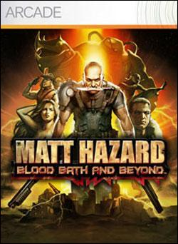 Matt Hazard: Blood Bath and Beyond (Xbox 360 Arcade) by Microsoft Box Art
