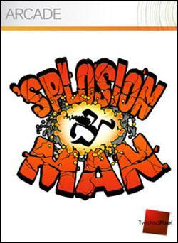 'Splosion Man (Xbox 360 Arcade) by Microsoft Box Art