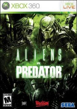 Aliens vs. Predator (Xbox 360) by Sega Box Art