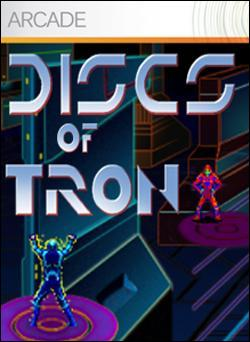 Discs of Tron (Xbox 360 Arcade) by Disney Interactive / Buena Vista Interactive Box Art